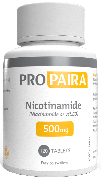 Nicotinamide Vitamin B3 & Zinc Oral Supplement