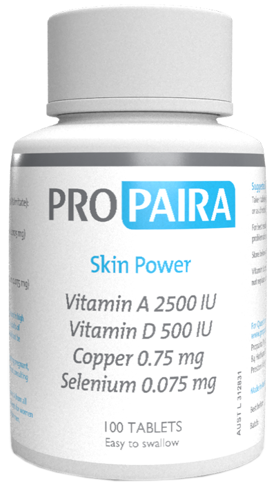 Skin Power Supplement Tablets