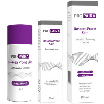 Propaira Demaway 15ml & Rozaway Cream 30ml & Micellar Cleansing Cream 100ml
